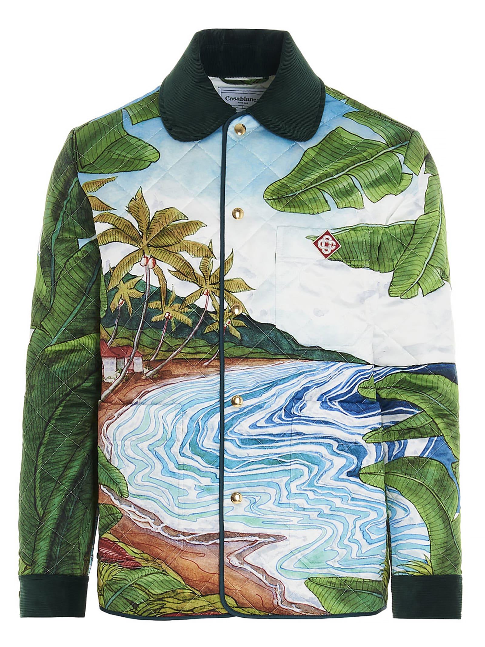 Casablanca Jackets IDILIC PRINT JACKET