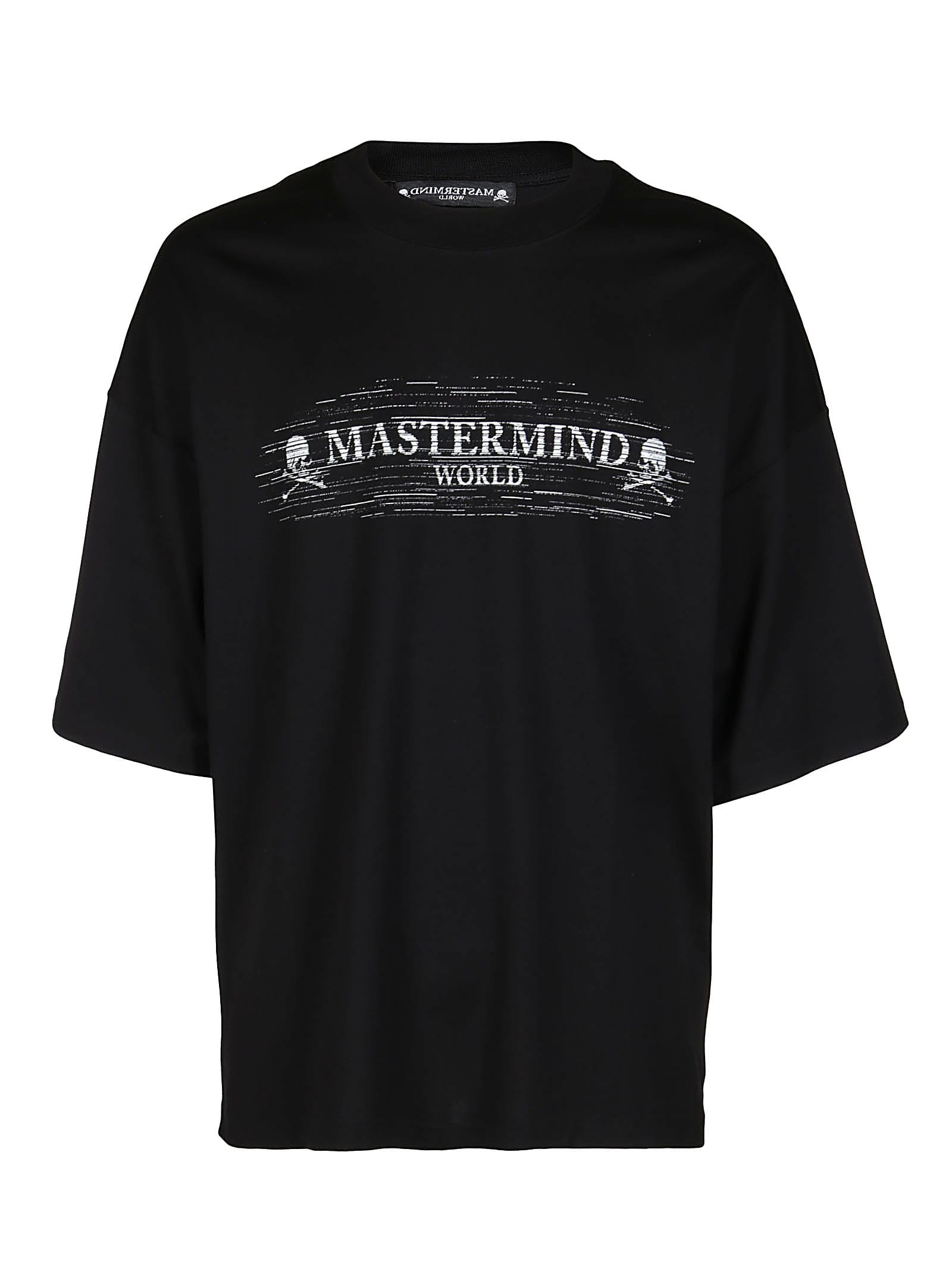 MASTERMIND WORLD Black Cotton T-shirt