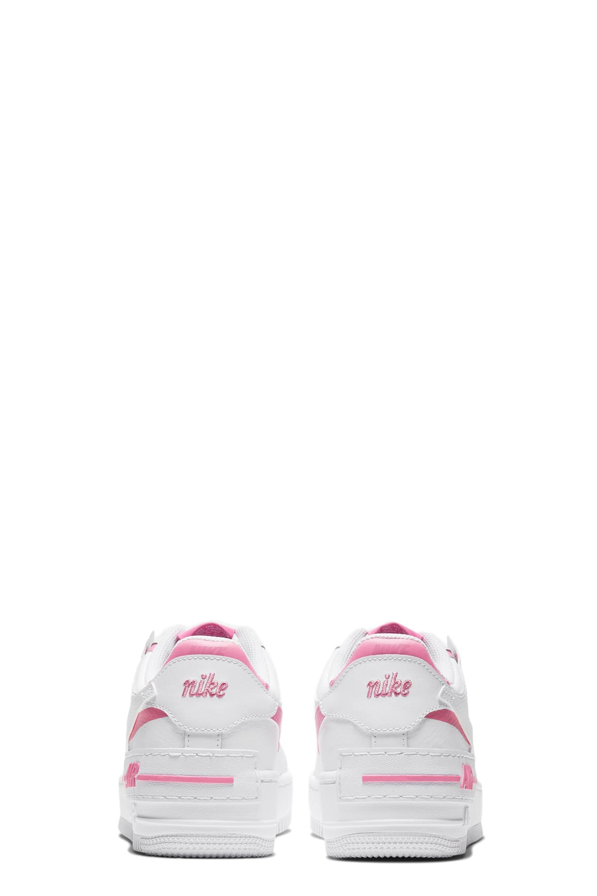 nike air force 1 bianco rosa