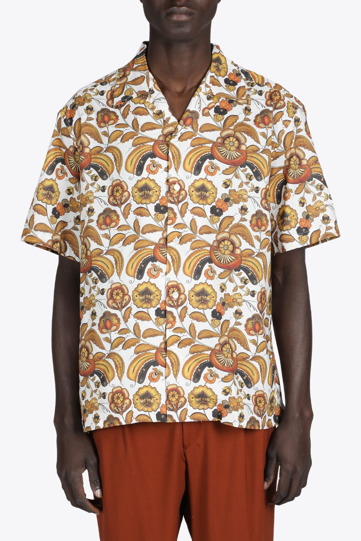 Ss Camp Collar Shirt