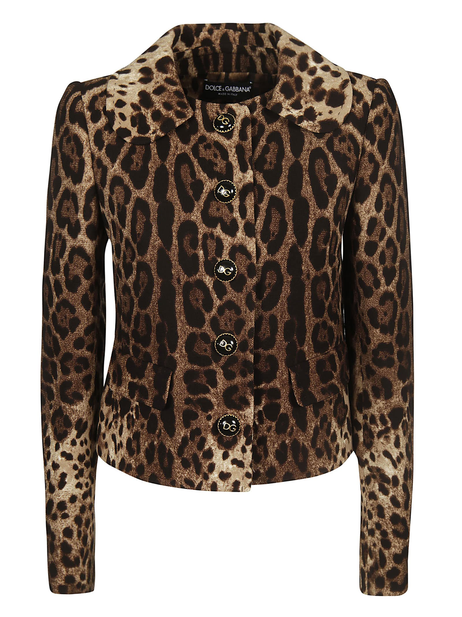 Dolce & Gabbana Animal Print Jacket