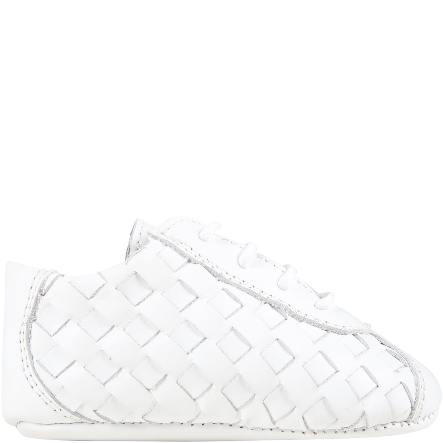 White Shoes For Babykids