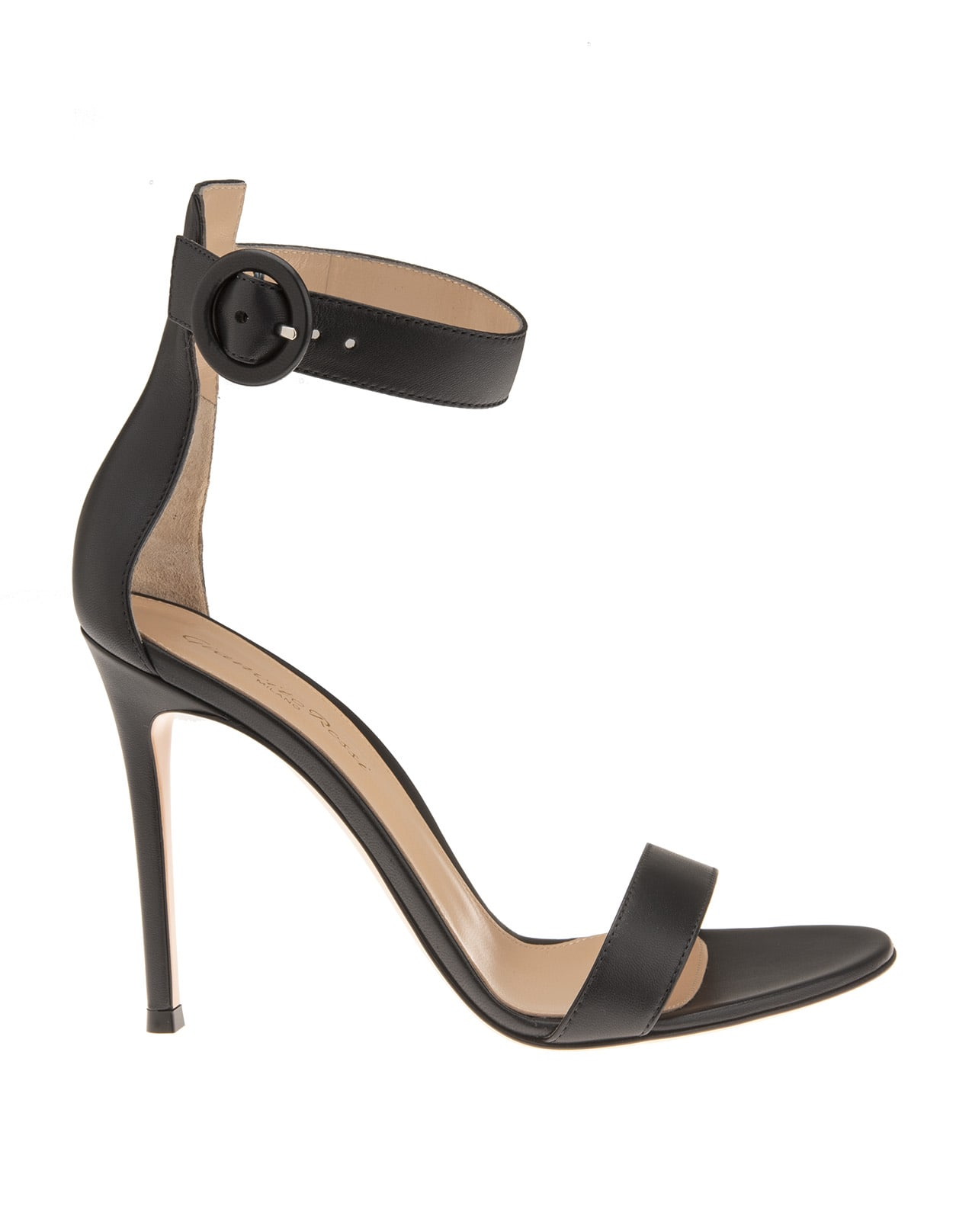 105mm Strappy Suede Sandals