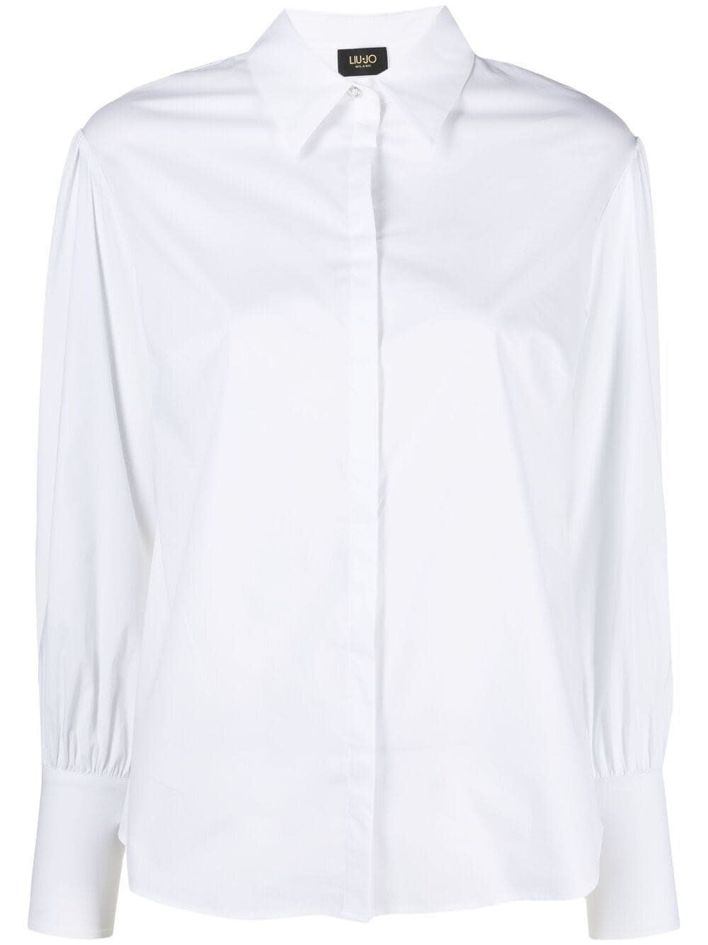 Liu •jo Cottons WHITE COTTON SHIRT