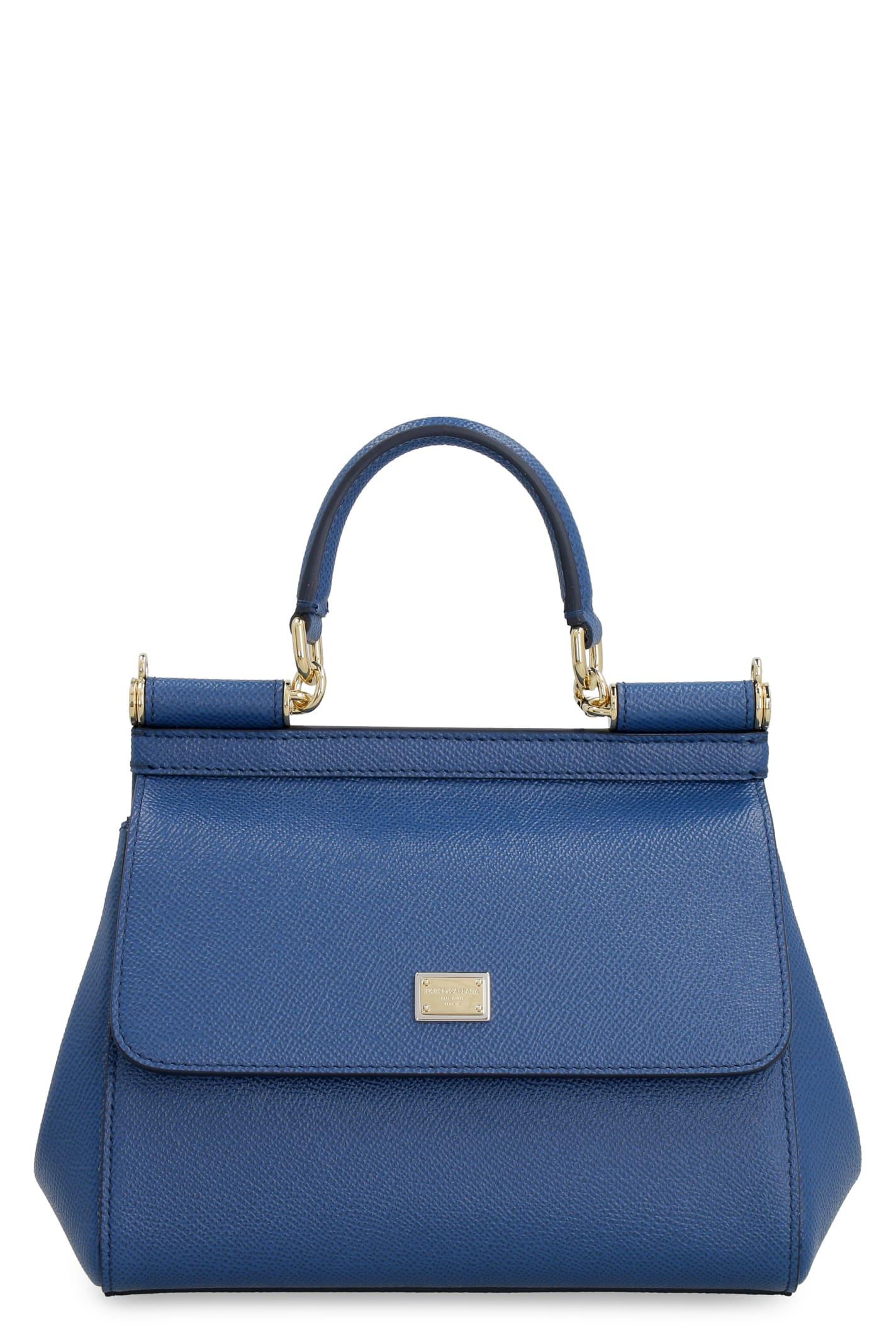 Dolce & Gabbana SICILY LEATHER MINI-BAG