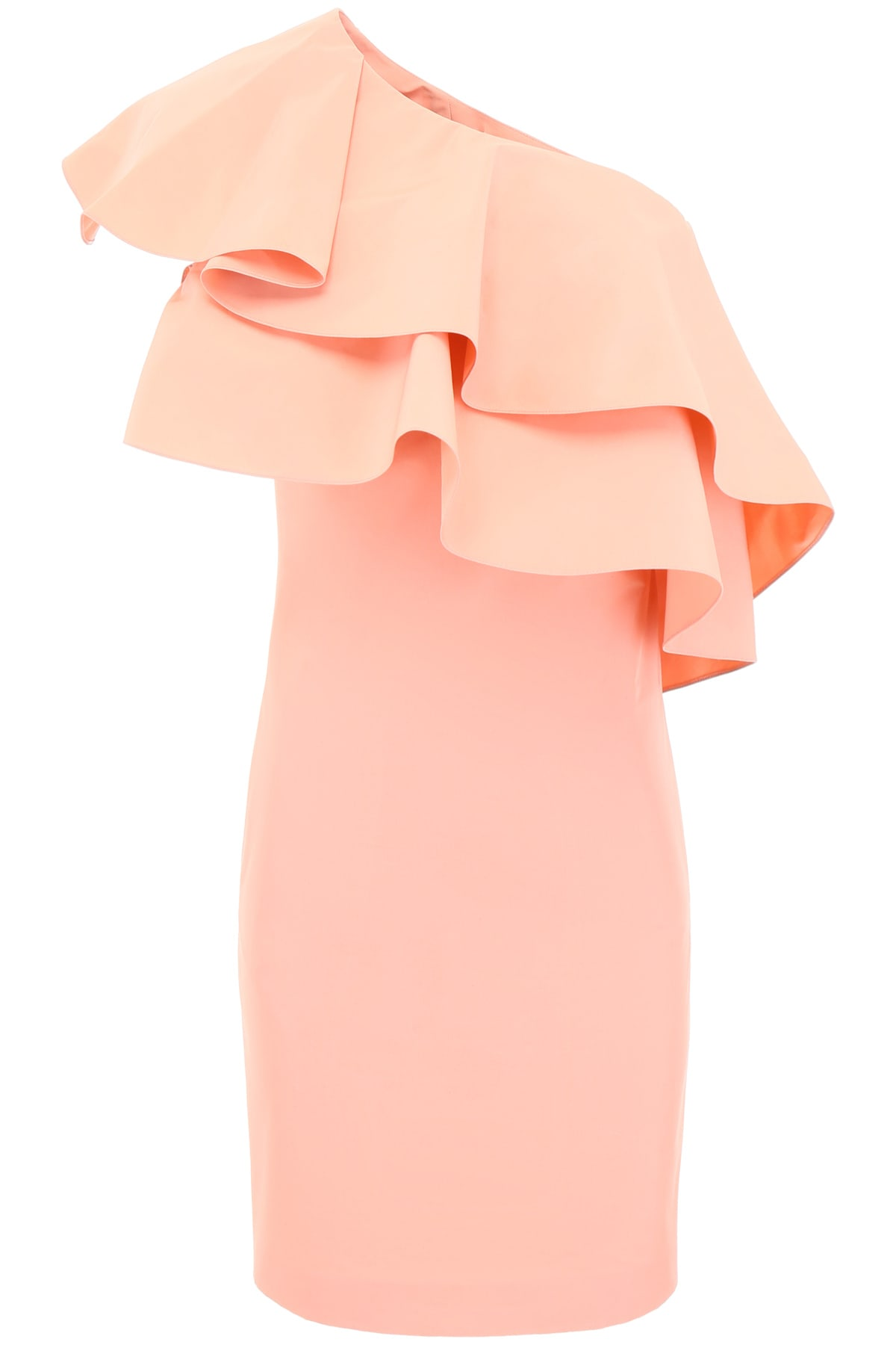 Buy Lanvin Ruffled One-shoulder Dress online, shop Lanvin with free shipping