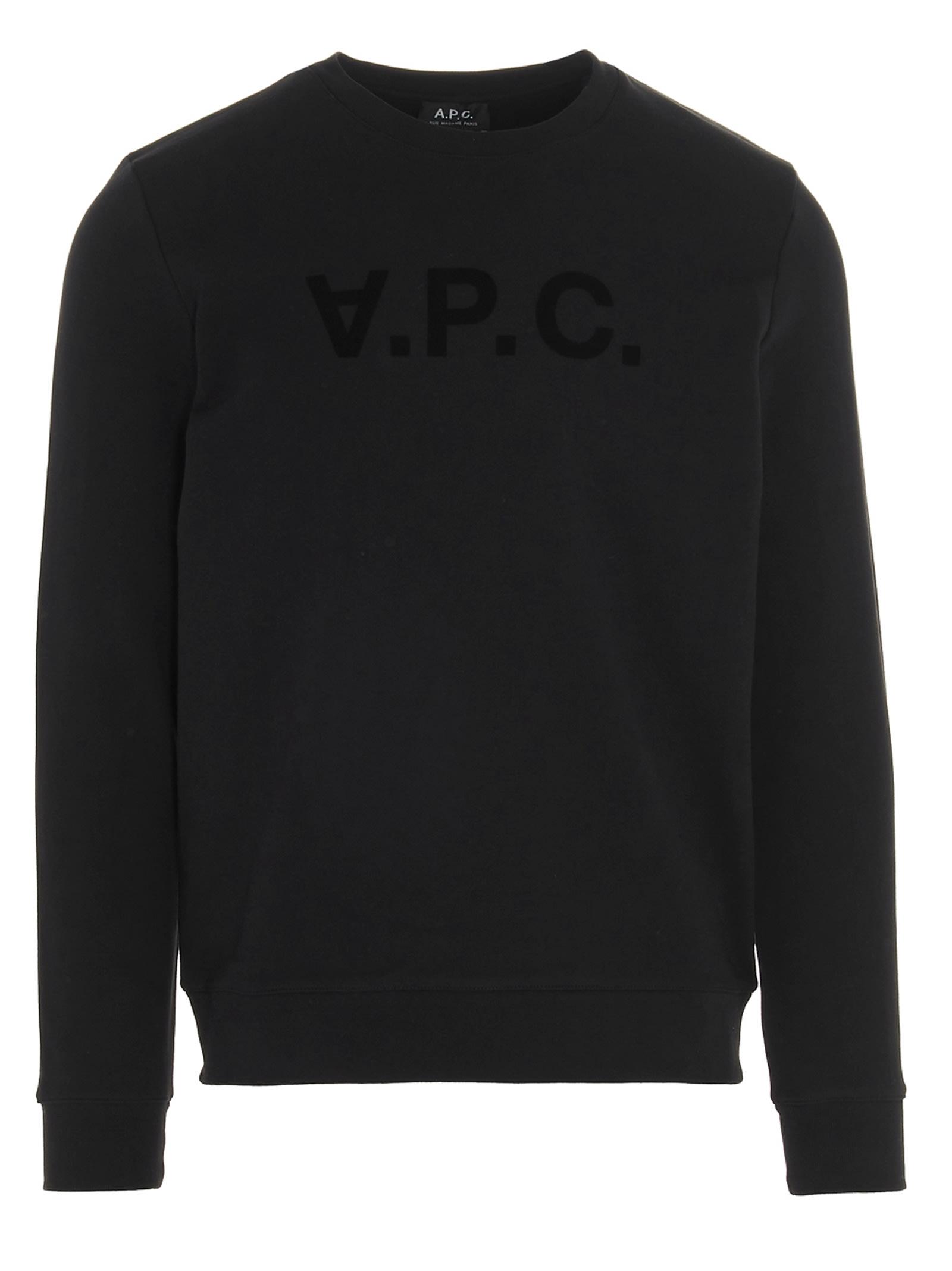 A.p.c. Apc Sweatshirt In Black