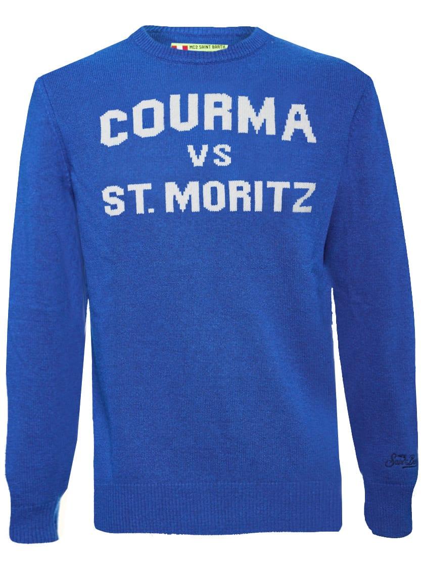 Courma Vs St. Moritz Bluette Mans Sweater