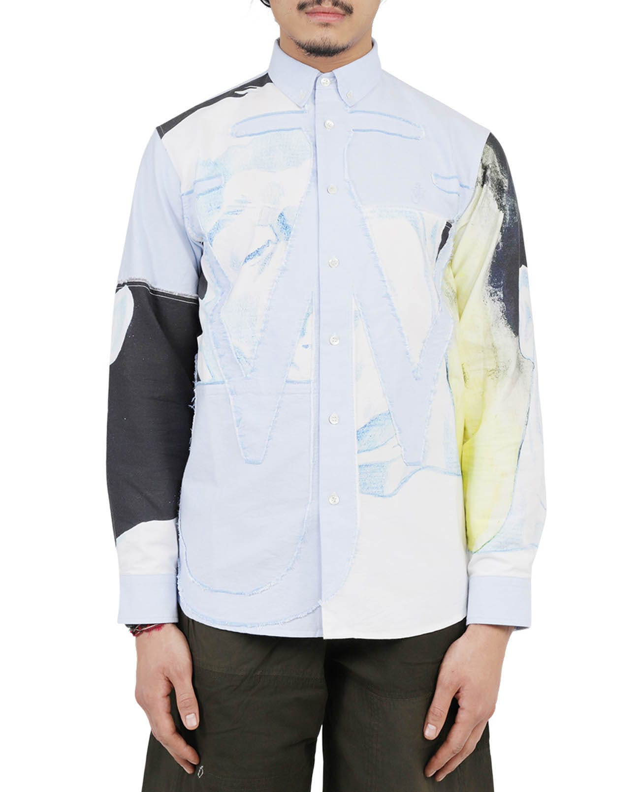 Jw Anderson Shirts JW ANDERSON PRINTED ANCHOR SHIRT