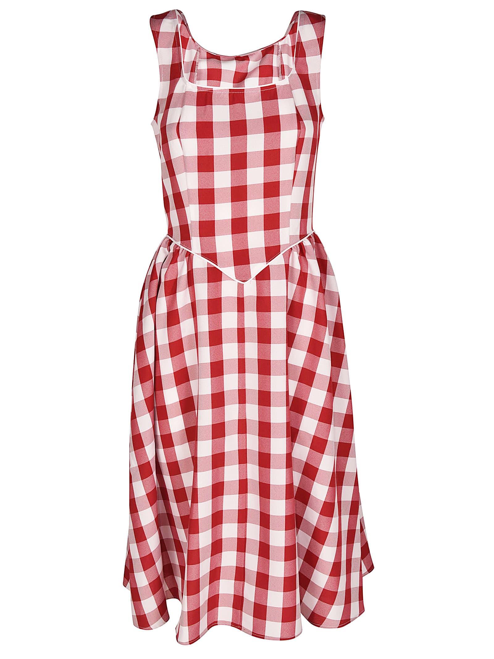 Batsheva Checked Dress