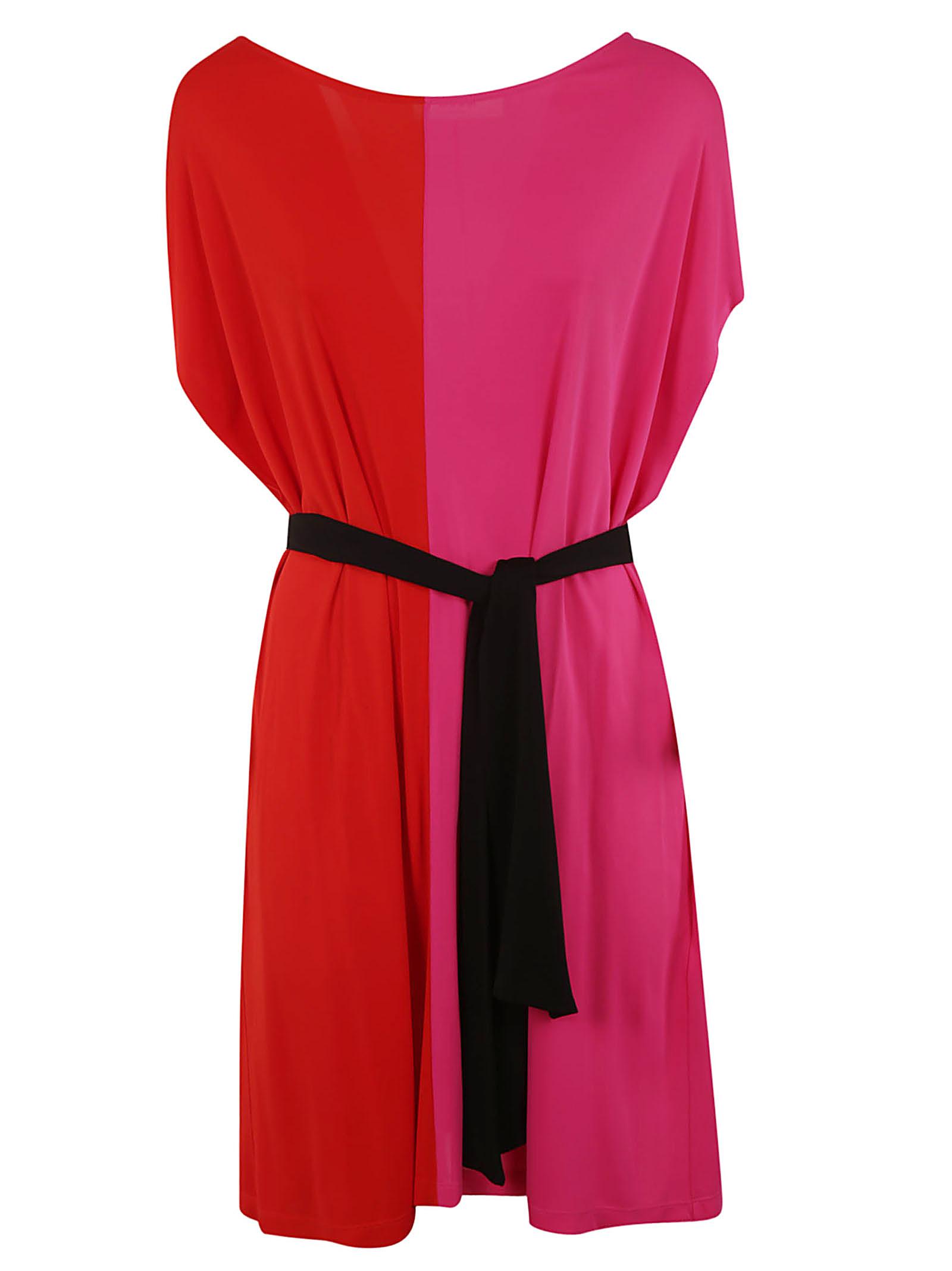 MSGM Split-tone Dress