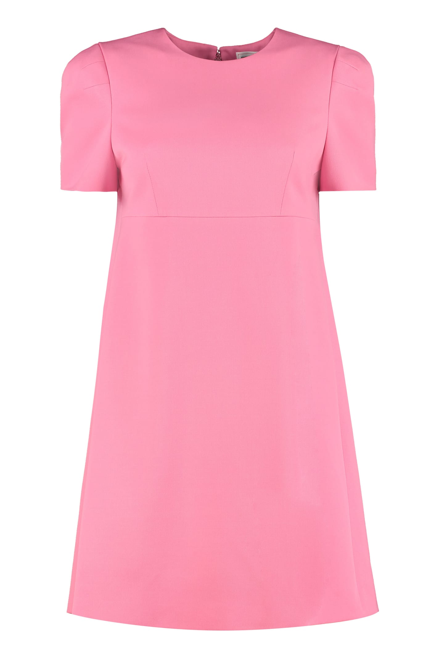 Buy Alexander McQueen Flared Mini Dress online, shop Alexander McQueen with free shipping