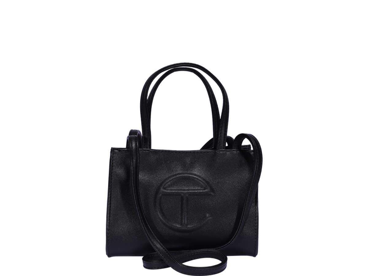 Telfar Large Shopping Bag In Black  ModeSens