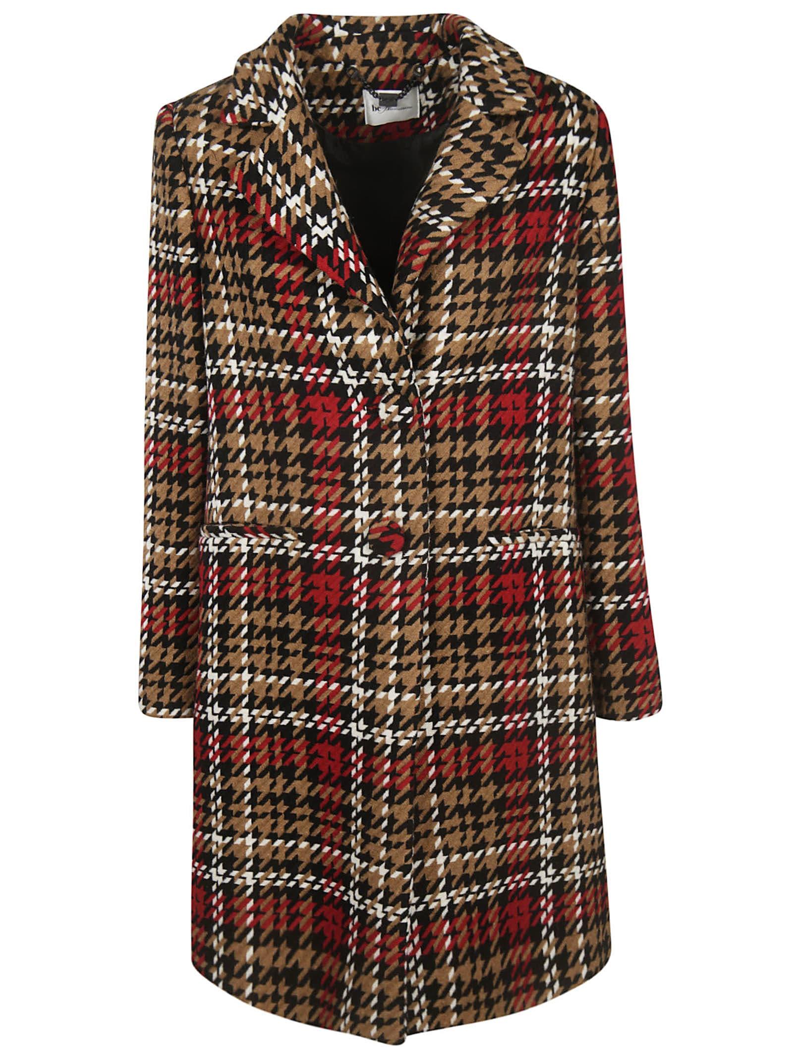 Be Blumarine All Over Print Coat