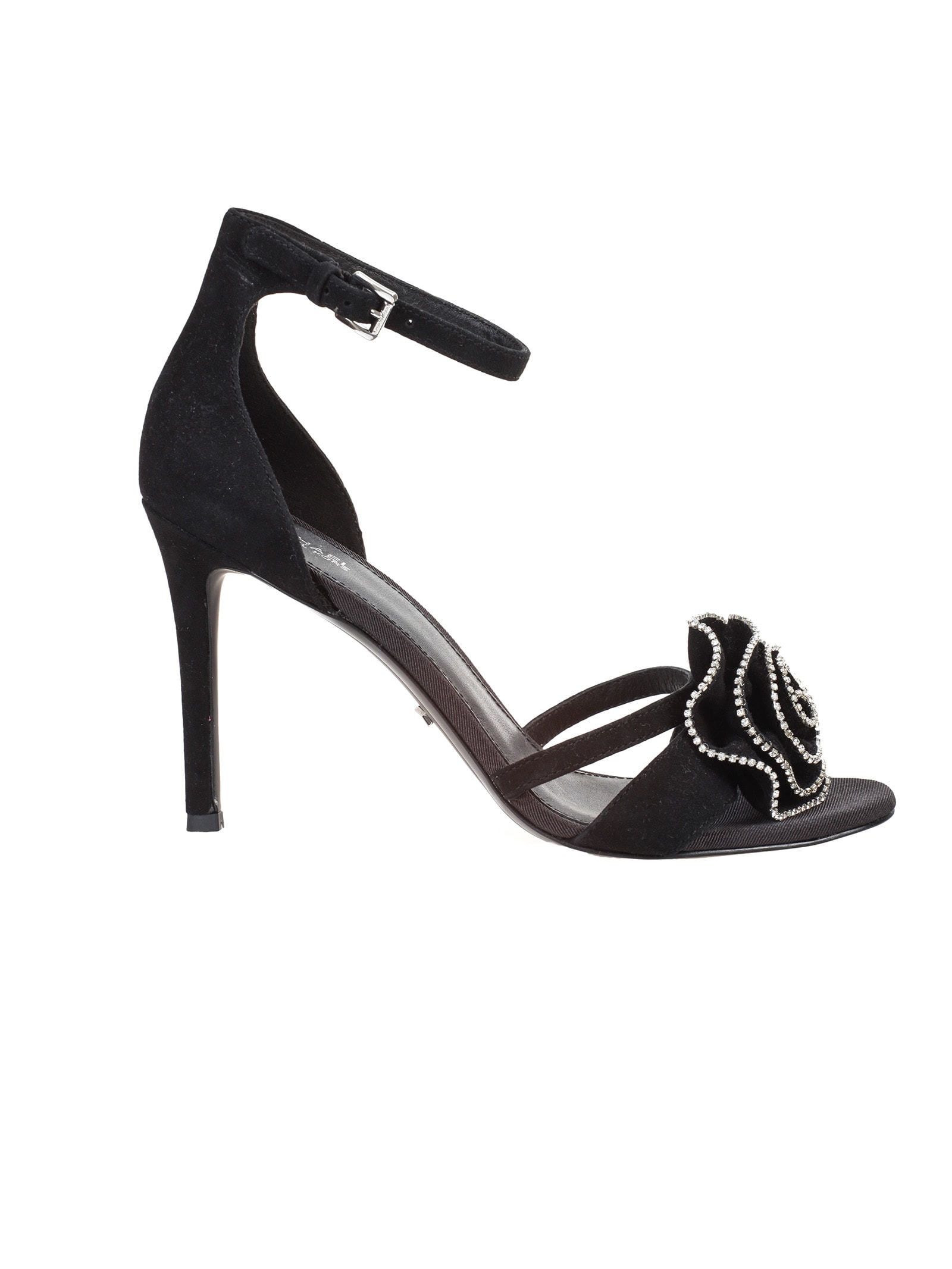 Buy Michael Michael Kors suede sandal online, shop Michael Kors shoes with free shipping