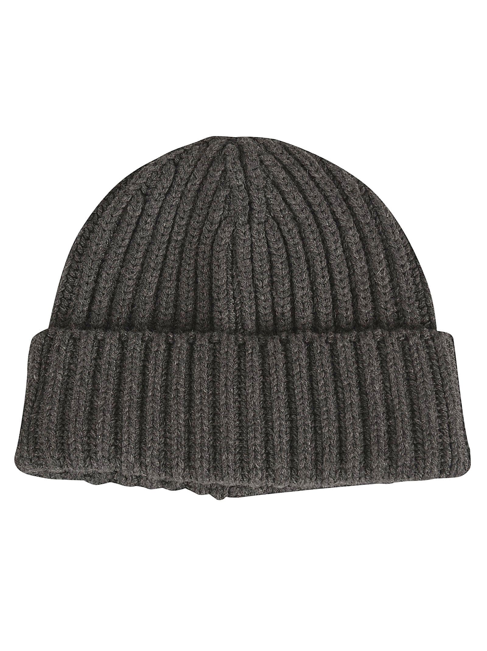 The Row Dibbo Hat In Dark Grey
