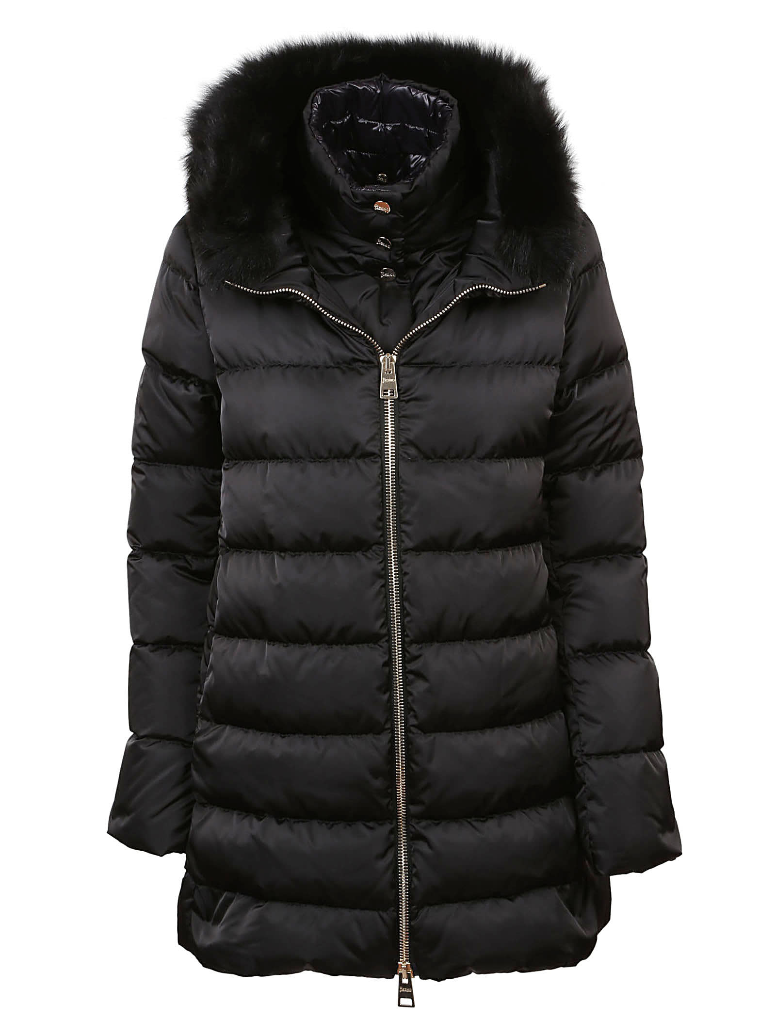 Herno Fur-trimmed Hood Padded Jacket