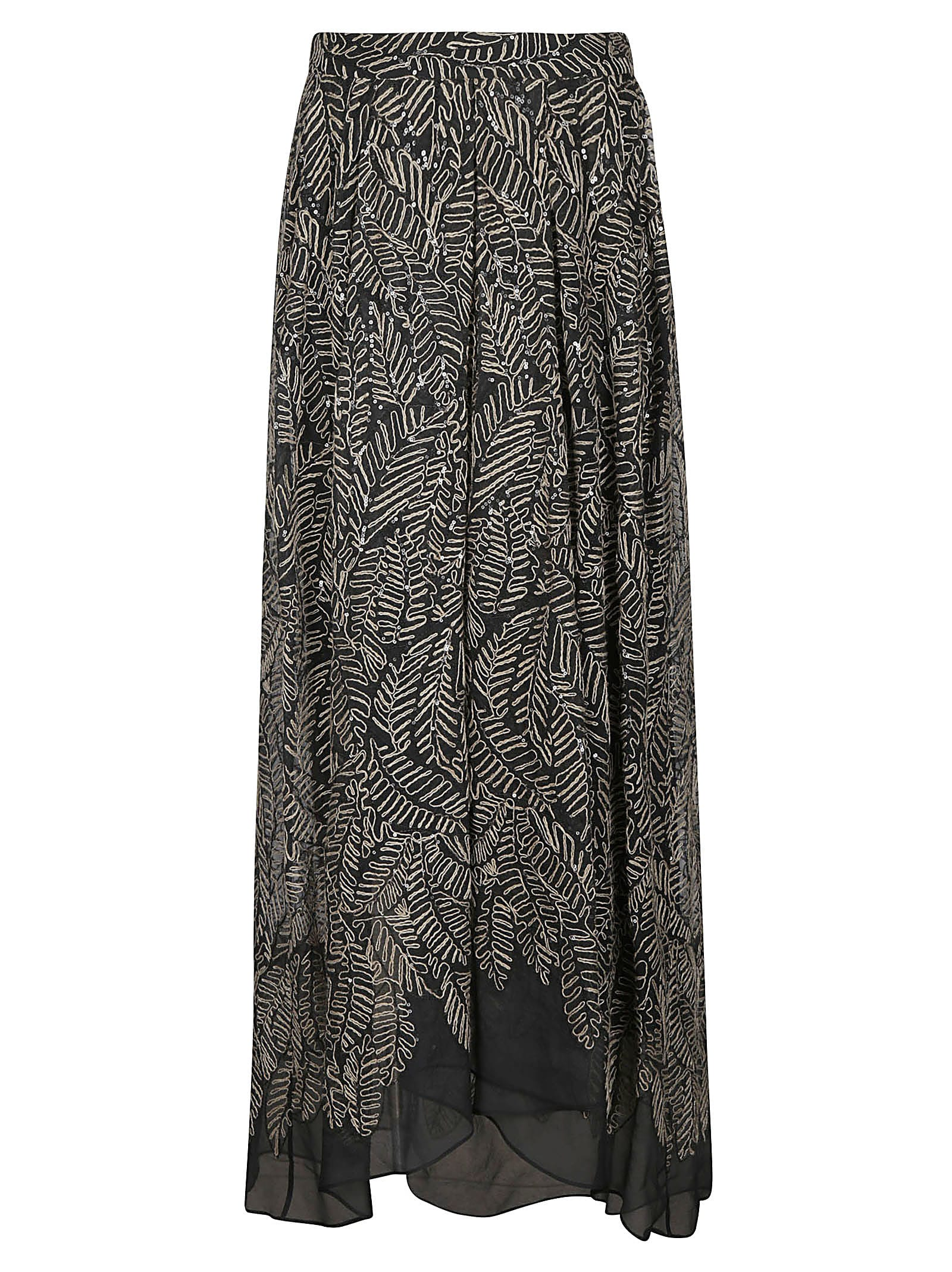 Buy Floral Printed Sleeveless Dress online, shop Brunello Cucinelli with free shipping