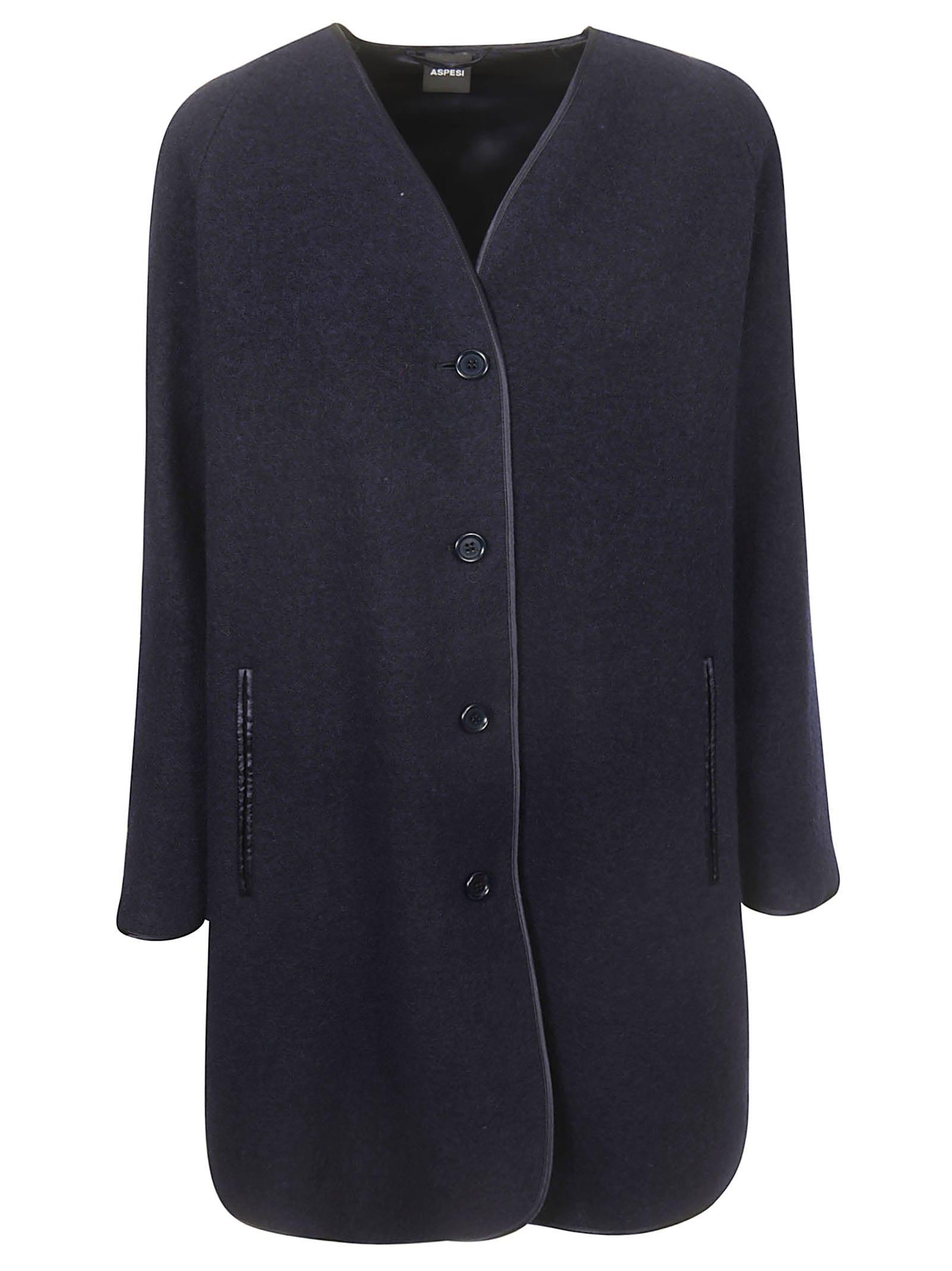 Aspesi Buttoned Coat