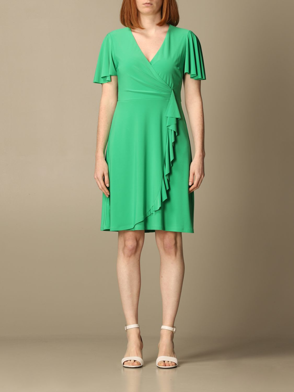 Buy Lauren Ralph Lauren Dress Lauren Ralph Lauren Short Dress In V online, shop Ralph Lauren with free shipping