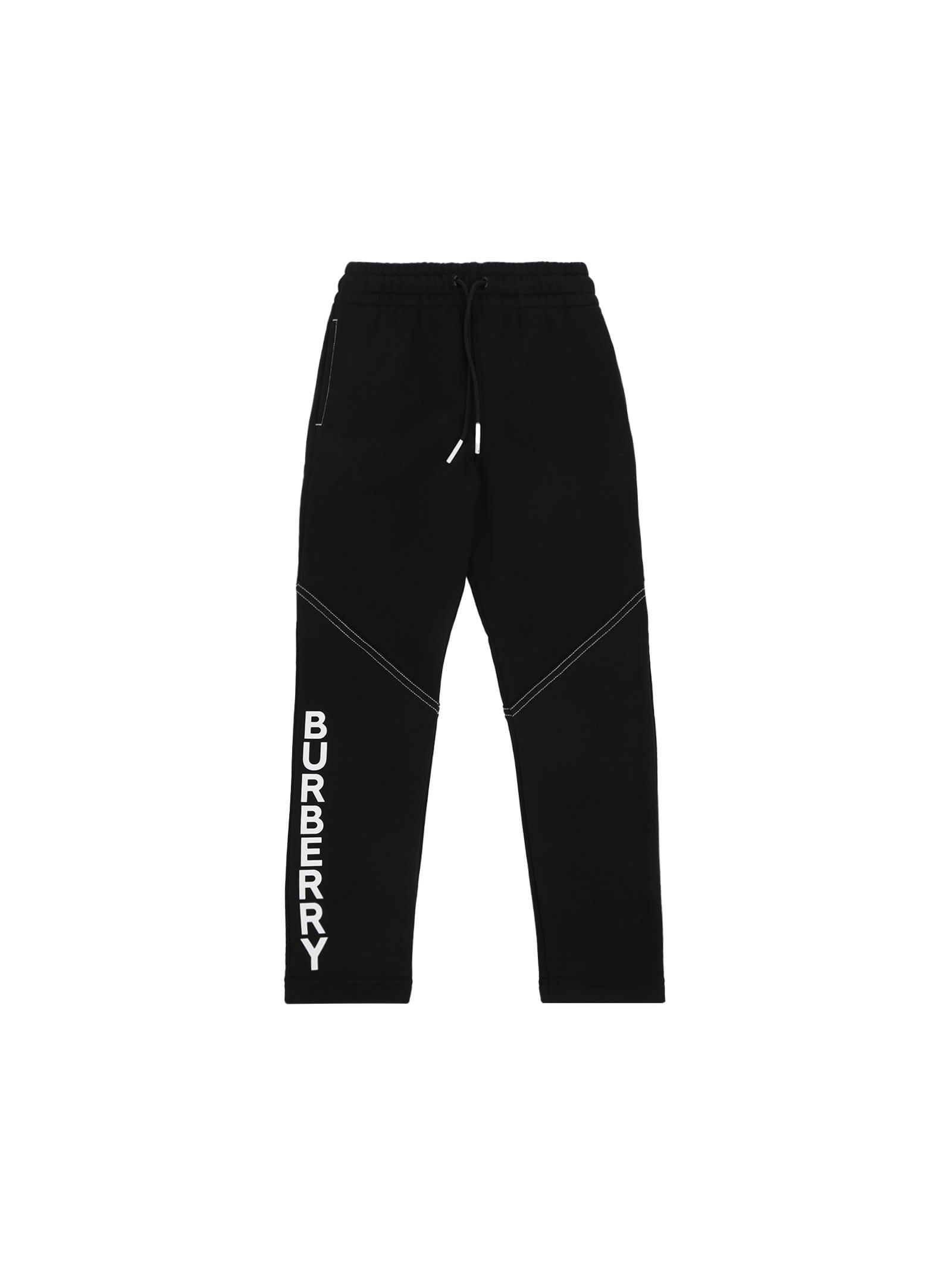 Burberry Kids' Pants In Black