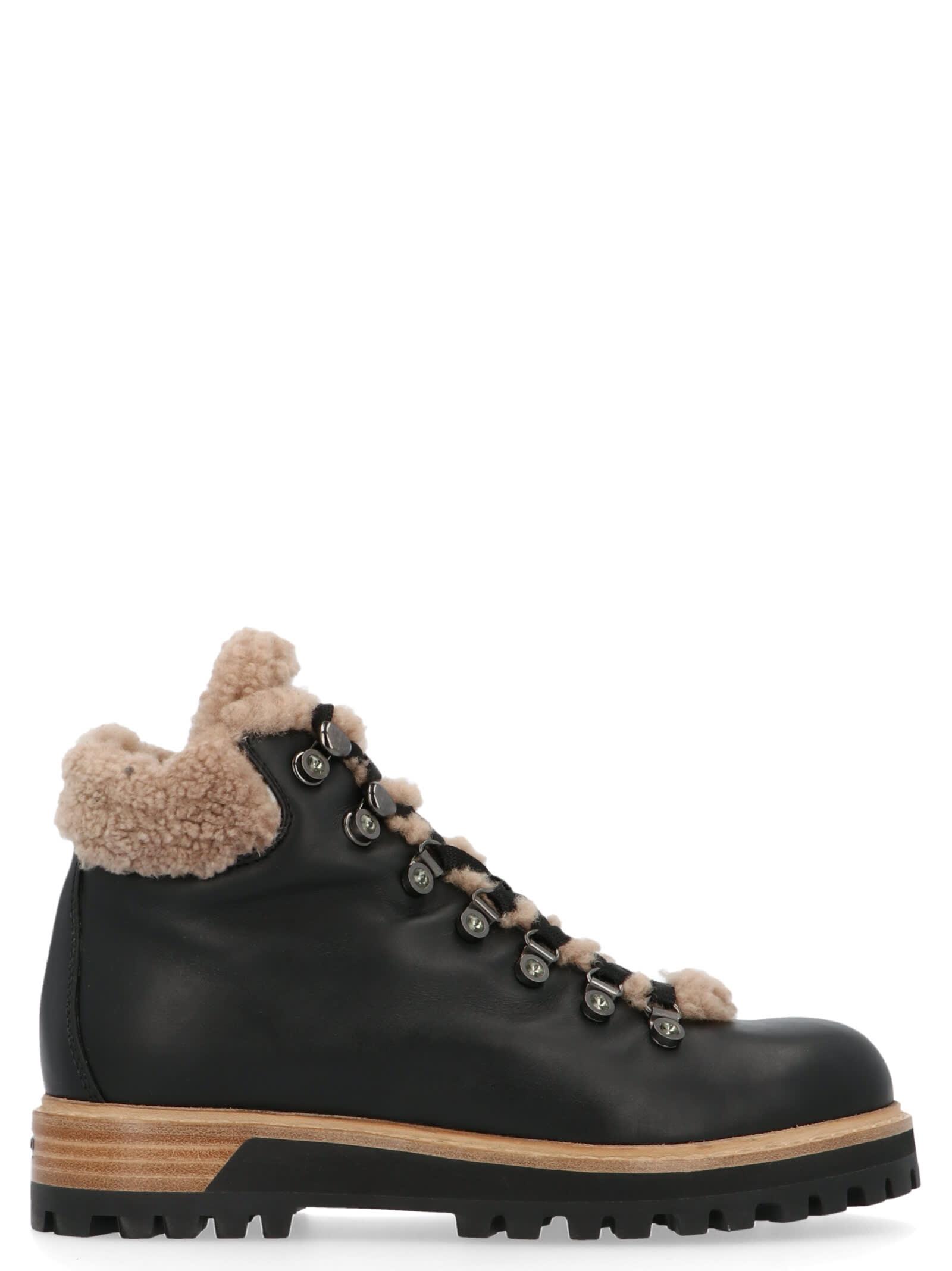 Le Silla St. Moritz Shoes In Black