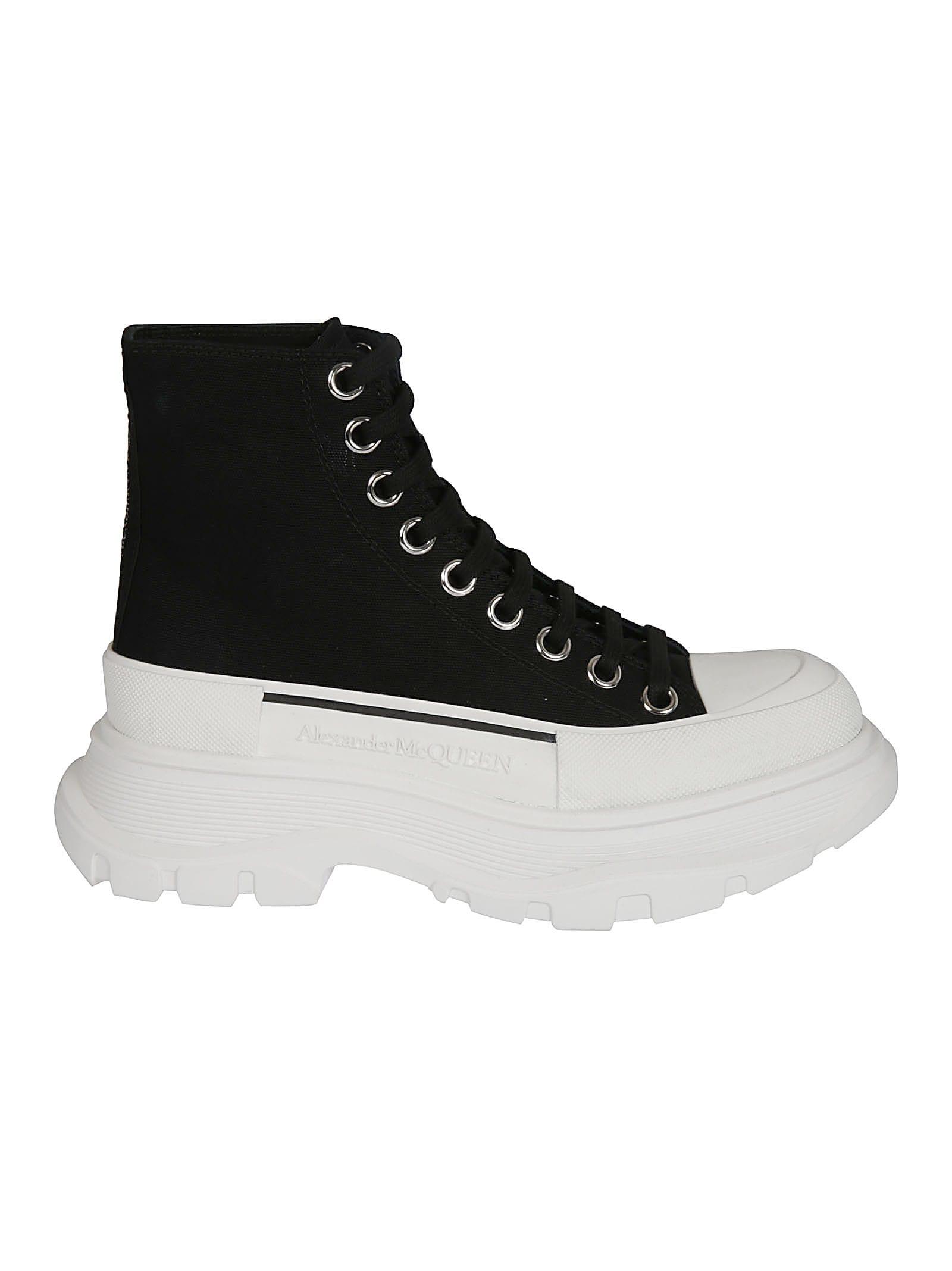Alexander Mcqueen Sneakers PLATFORM LACE-UP SNEAKERS