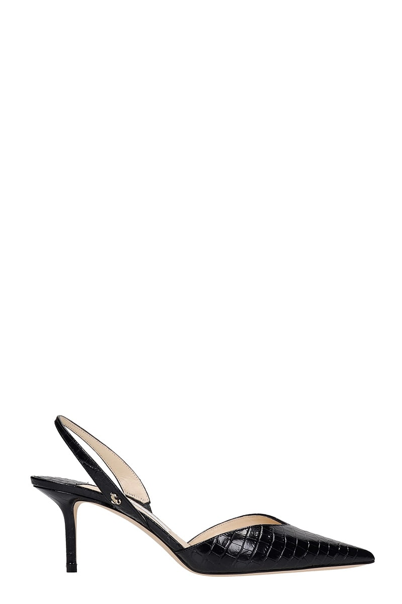 Jimmy Choo Thandi 65 Pumps In Black Leather