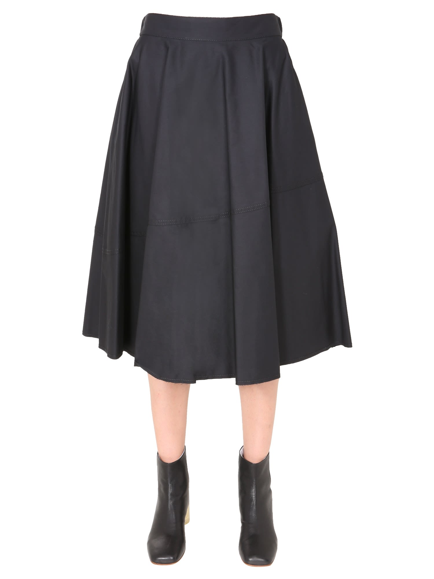 MM6 Maison Margiela Flared Skirt