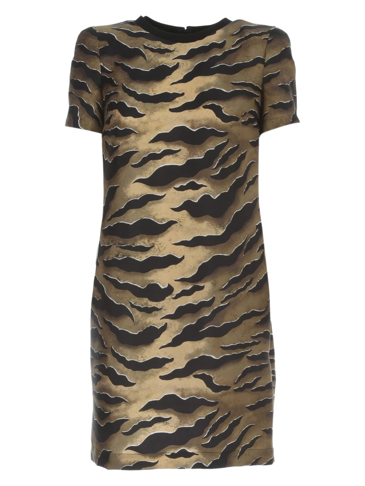 Buy Dsquared2 Dress Silk Twill Zebra Printing online, shop Dsquared2 with free shipping