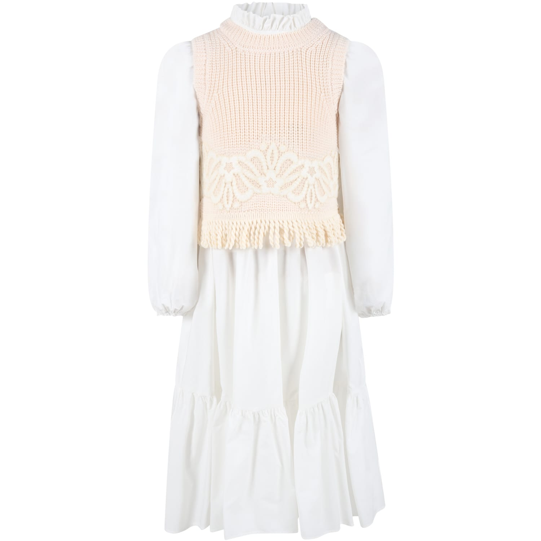 White Dress For Girl