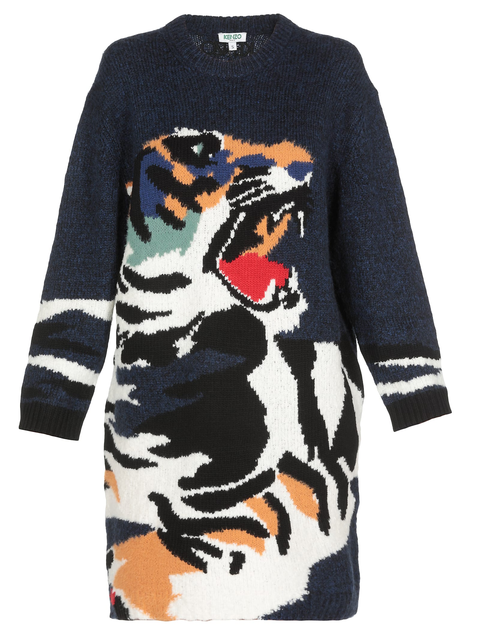 Kenzo Tiger Knit Dress