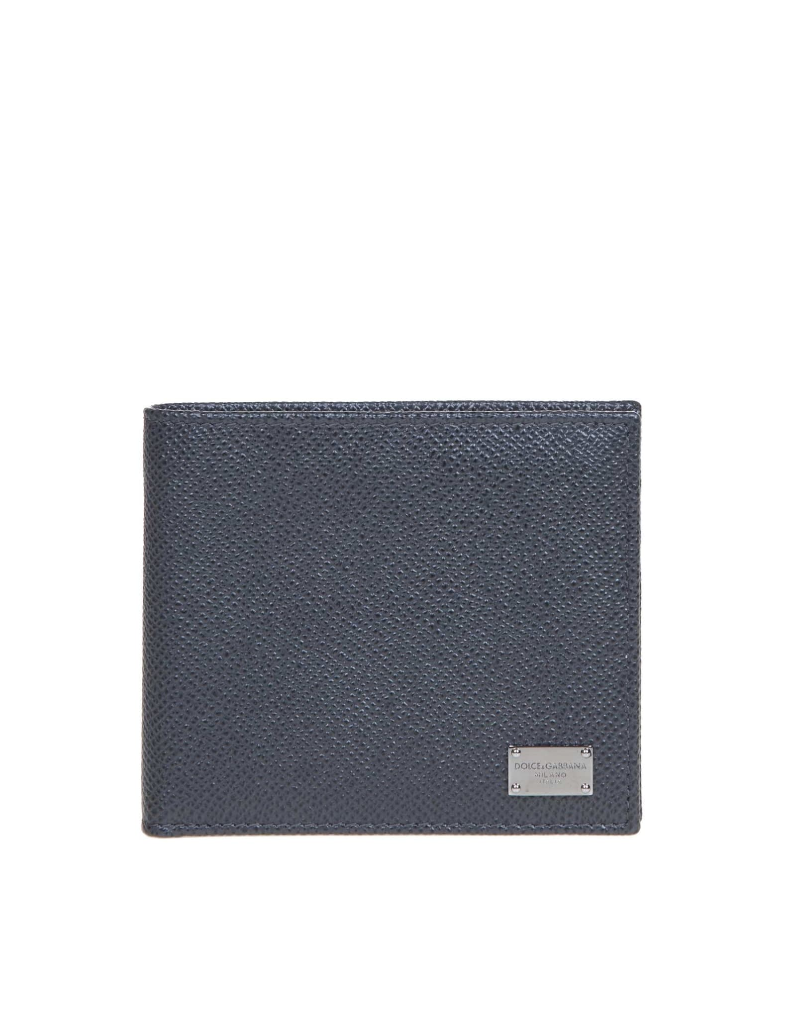 Dolce & Gabbana Wallet In Calf Leather