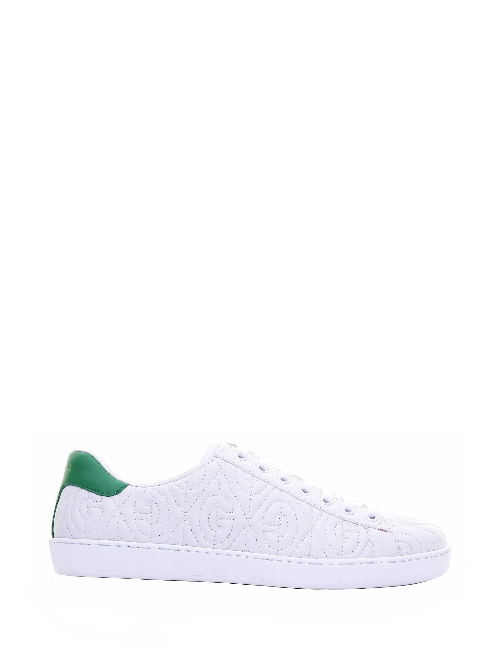 Gucci Gucci G Quilted Ace Sneakers