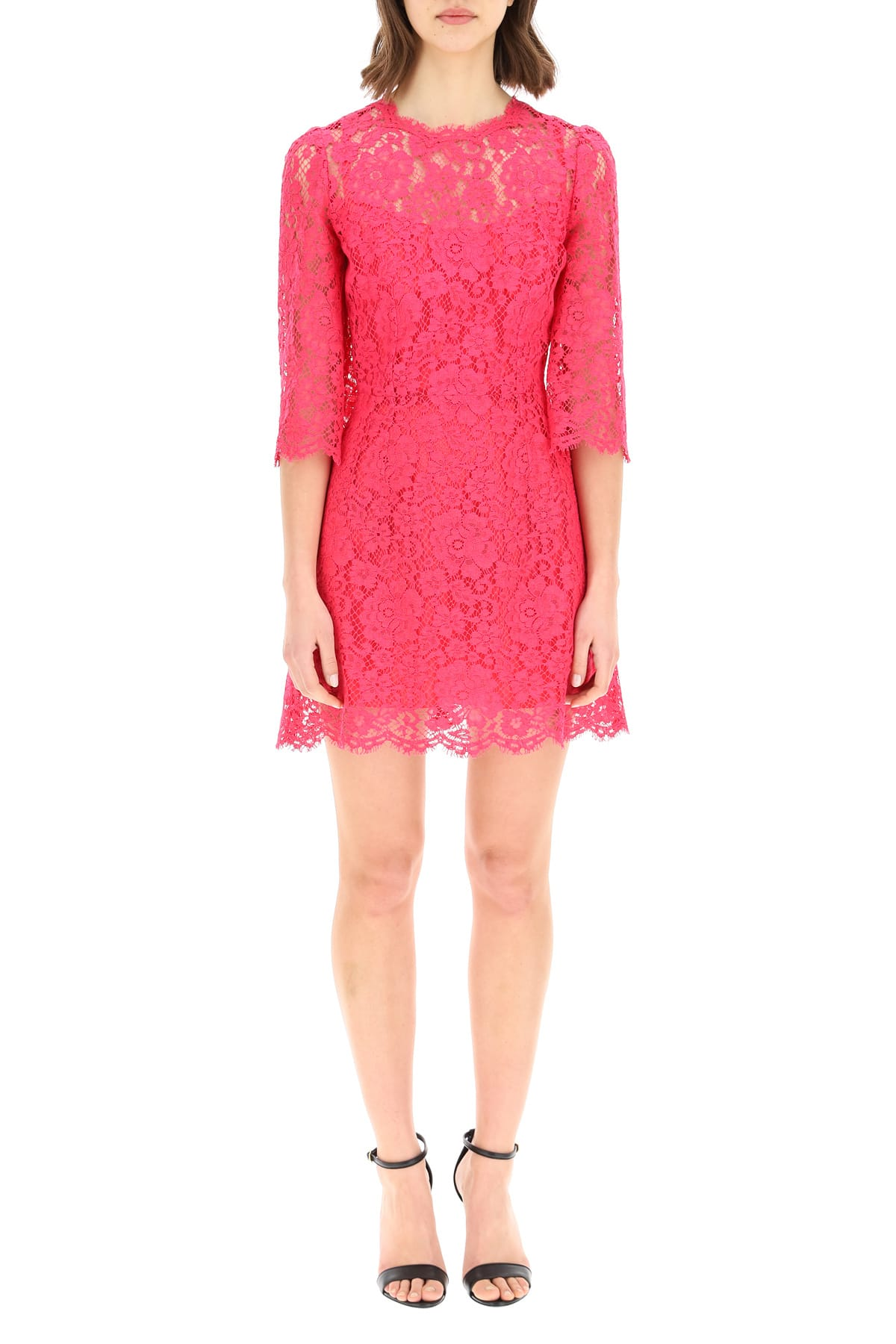 Dolce & Gabbana CORDONETTO LACE DRESS