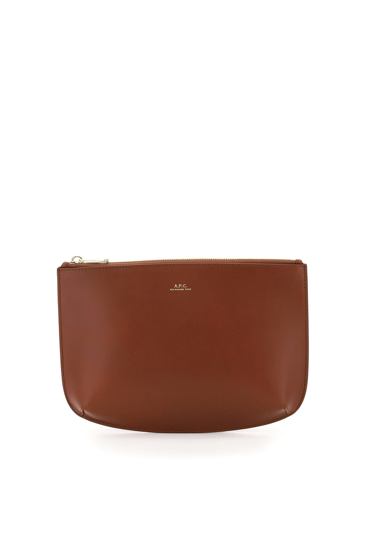 A.p.c. SARAH LEATHERCLUTCH