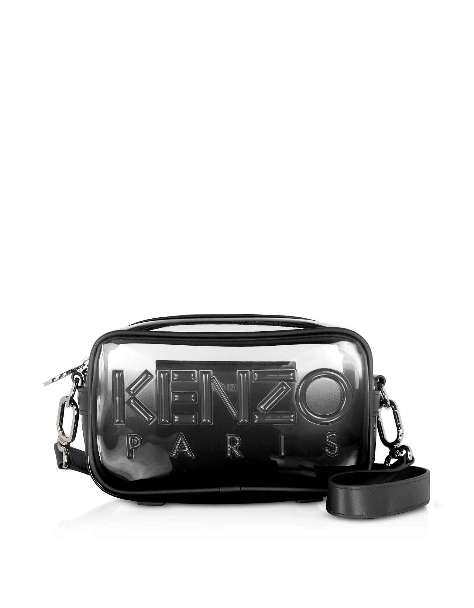 Kenzo Transparent Kombo Crossbody Bag