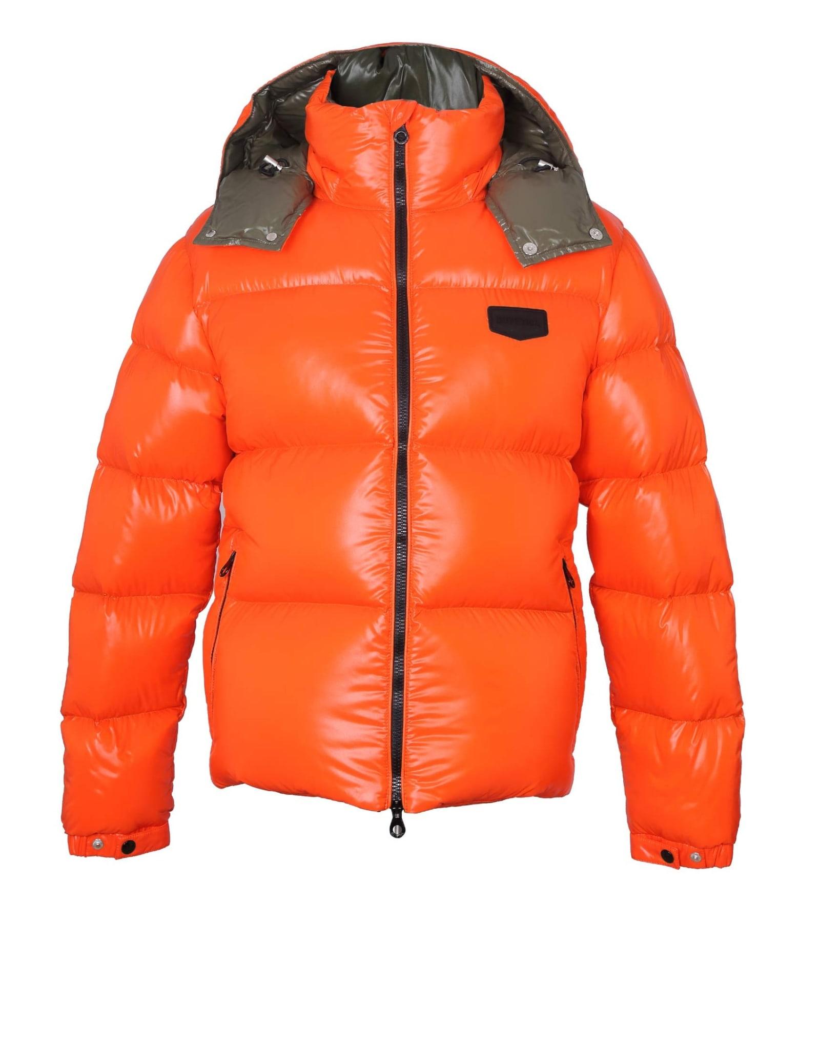 Sallo Jacket With Hood Orange