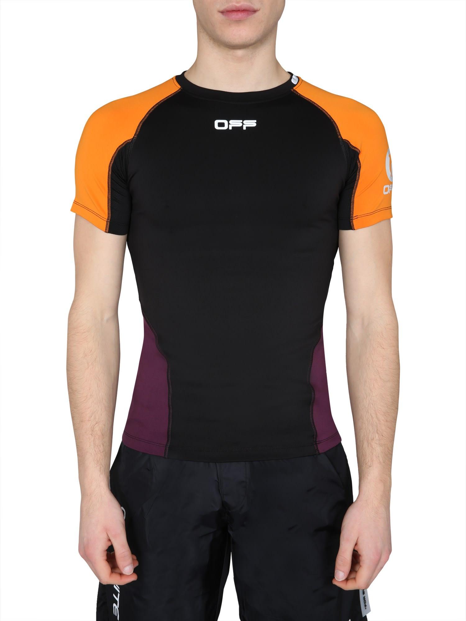 Off-White Short Sleeve T-Shirt