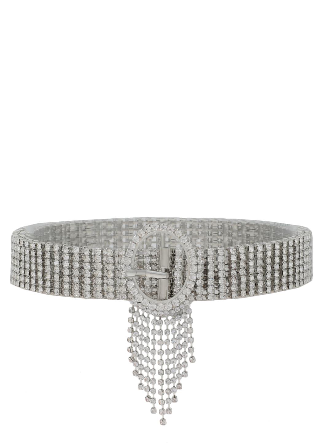 B-low The Belt Abigail Belt In Silver