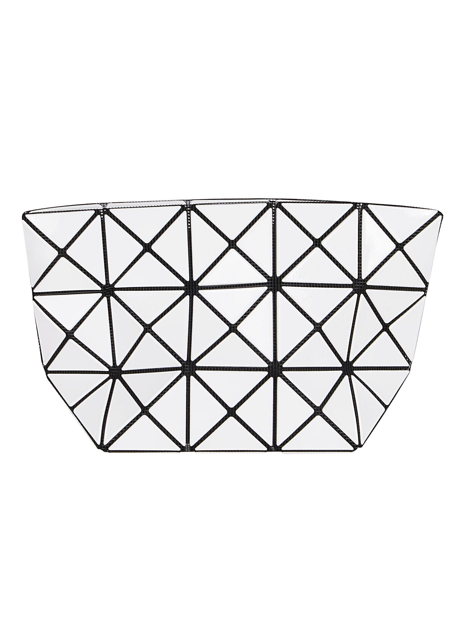 Bao Bao Issey Miyake WHITE PRISM POUCH
