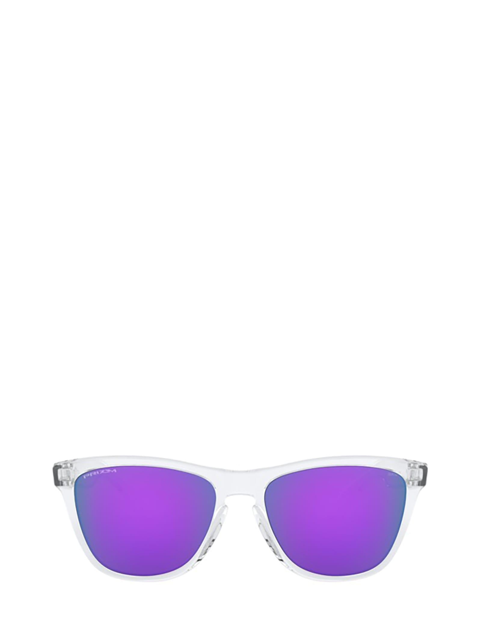 Oakley Oj9006 Polished Clear Sunglasses