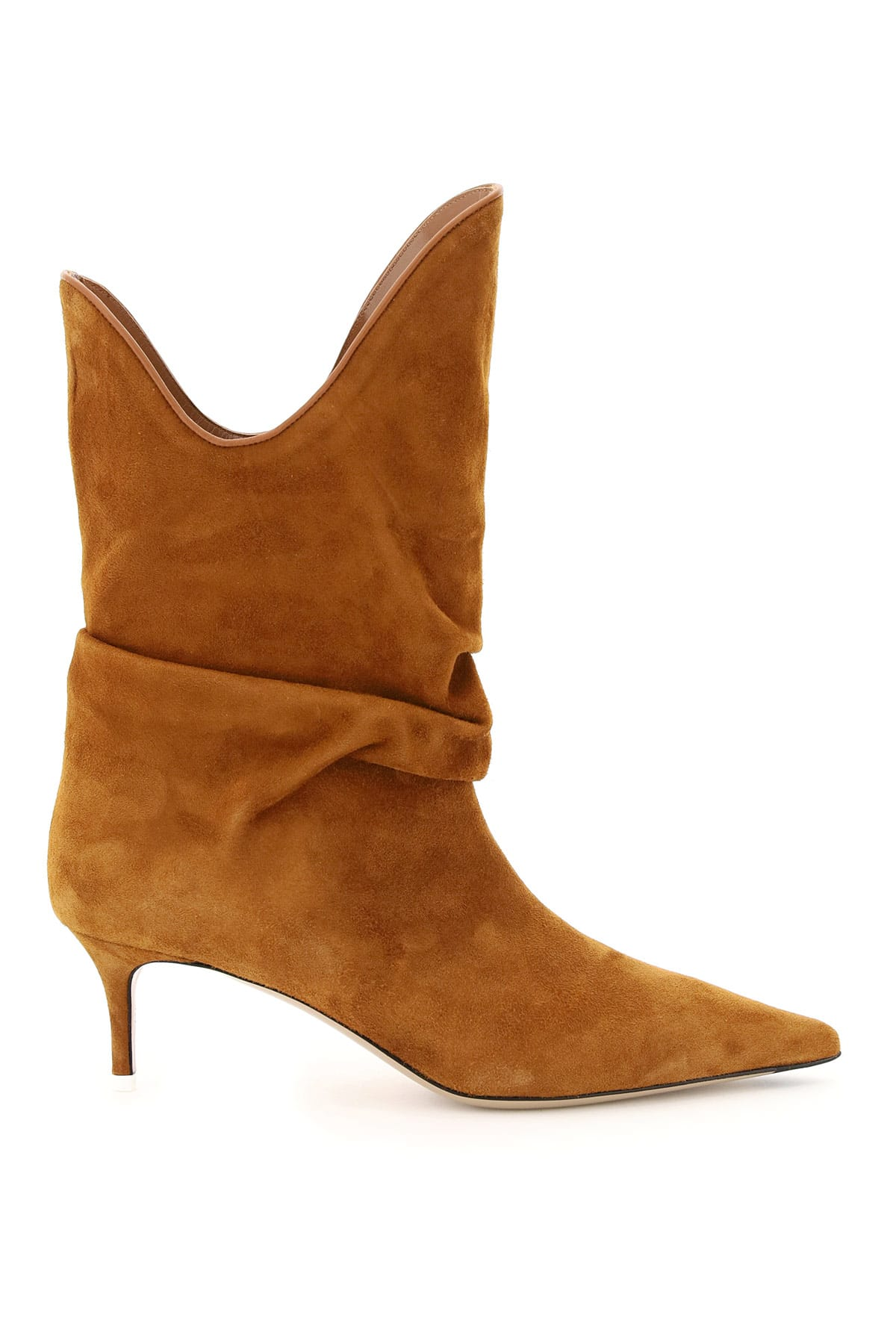 Attico SUEDE ANKLE BOOTS