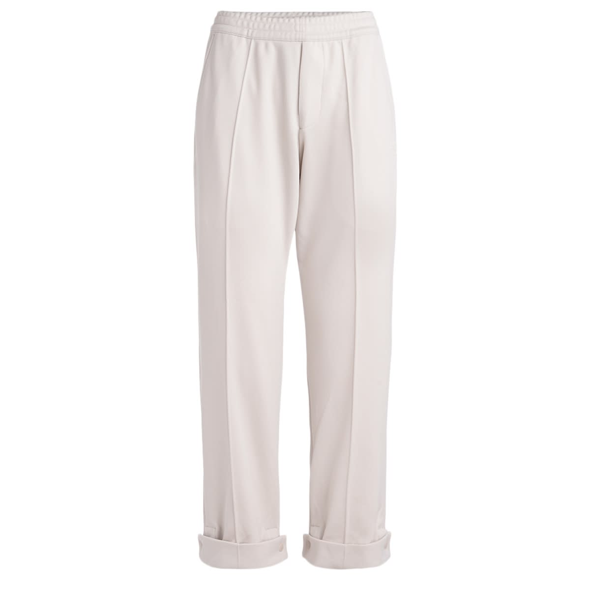 Y3 Sports Trousers In Ecru Color In Fabric