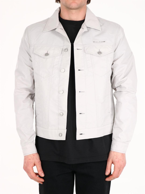 Alyx Jackets SHINY LOGO JACKET GRAY