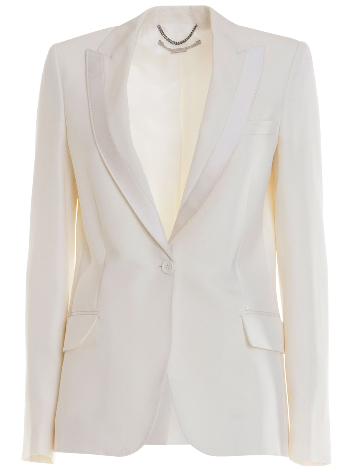 Stella Mccartney White Blazer