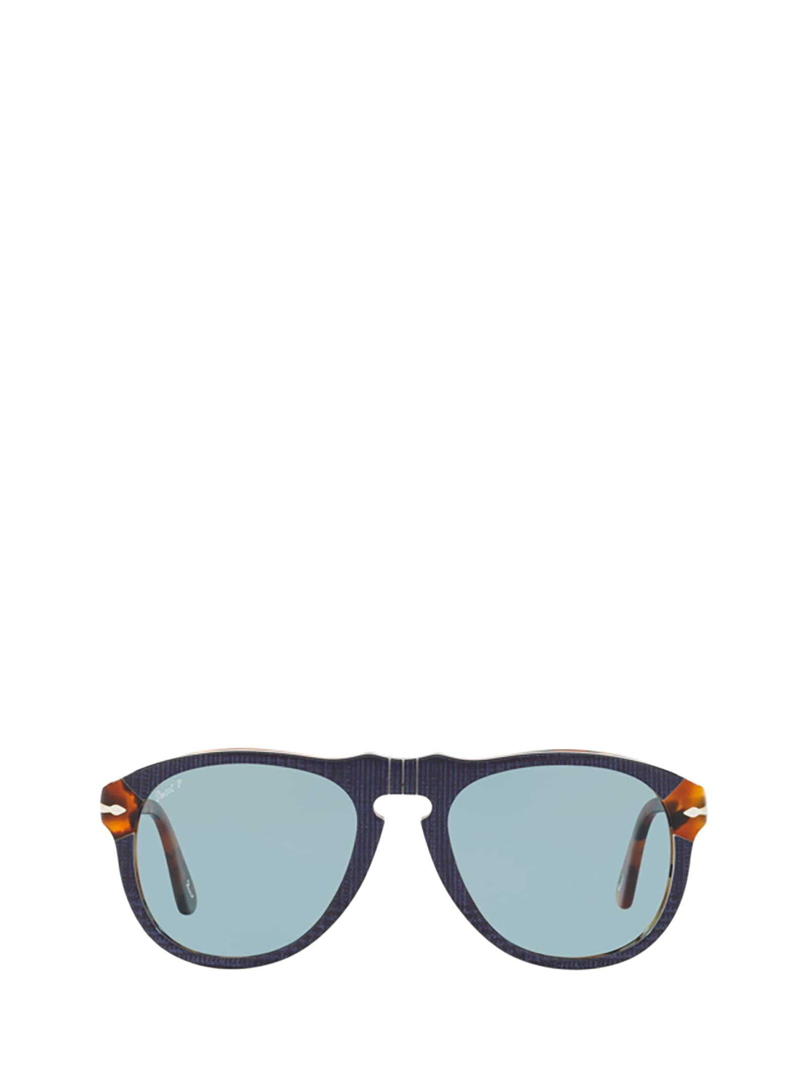 Persol Persol Po0649 Blue Prince Of Wales & Havana Sunglasses