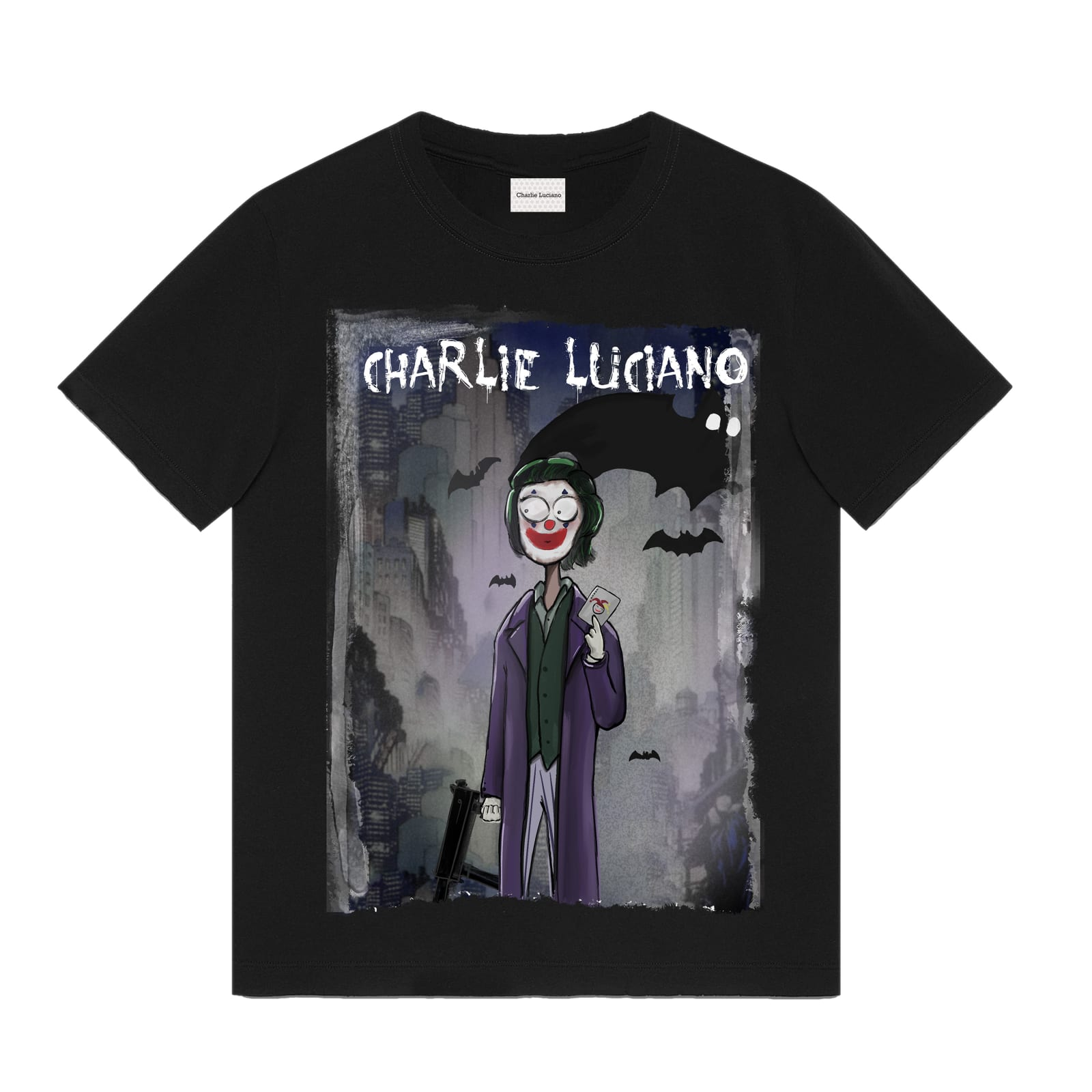 Joker Unisex Print T-Shirt