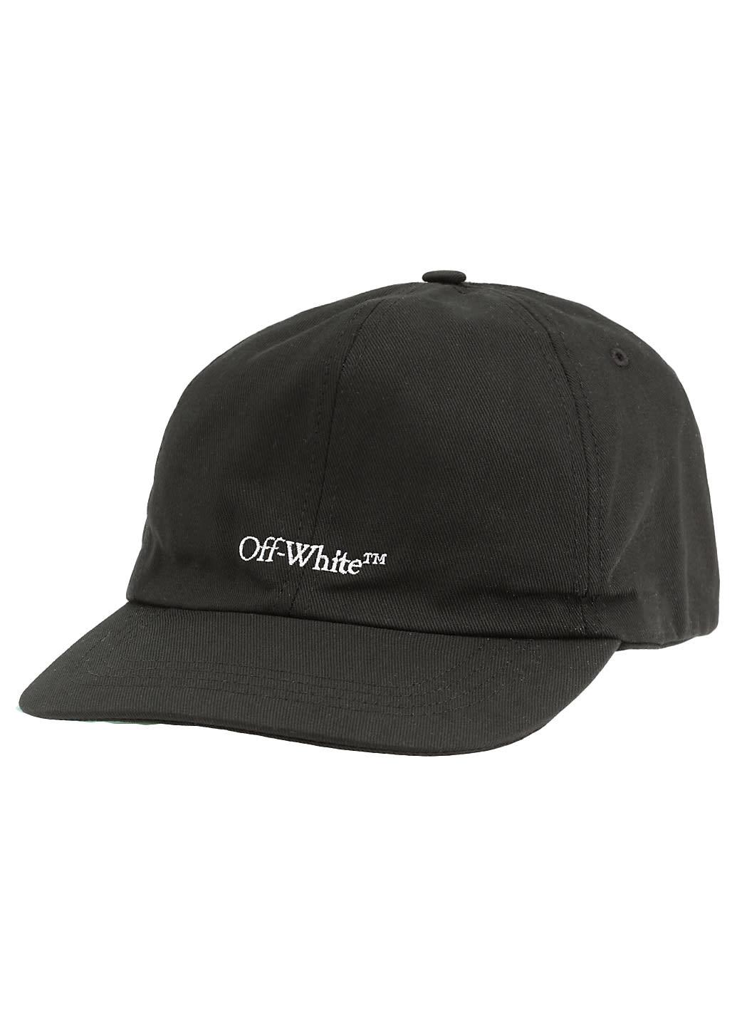 OFF-WHITE COTTON HAT