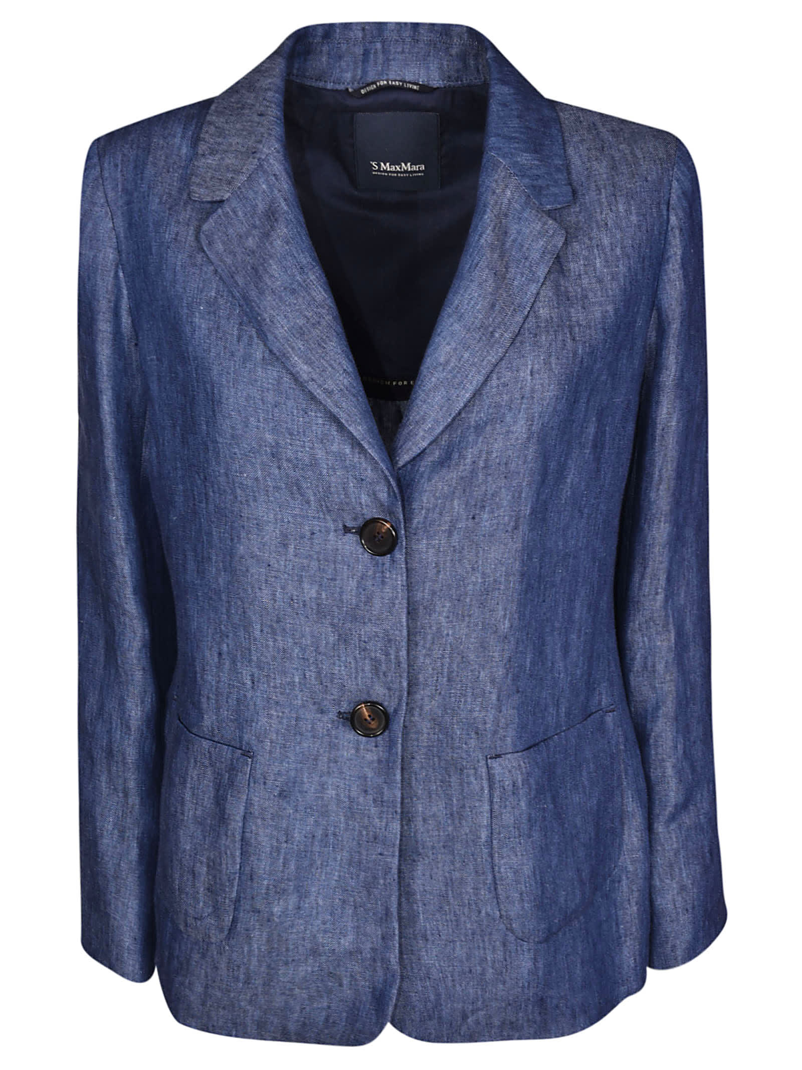 S Max Mara Here is The Cube Single Breasted Jacket